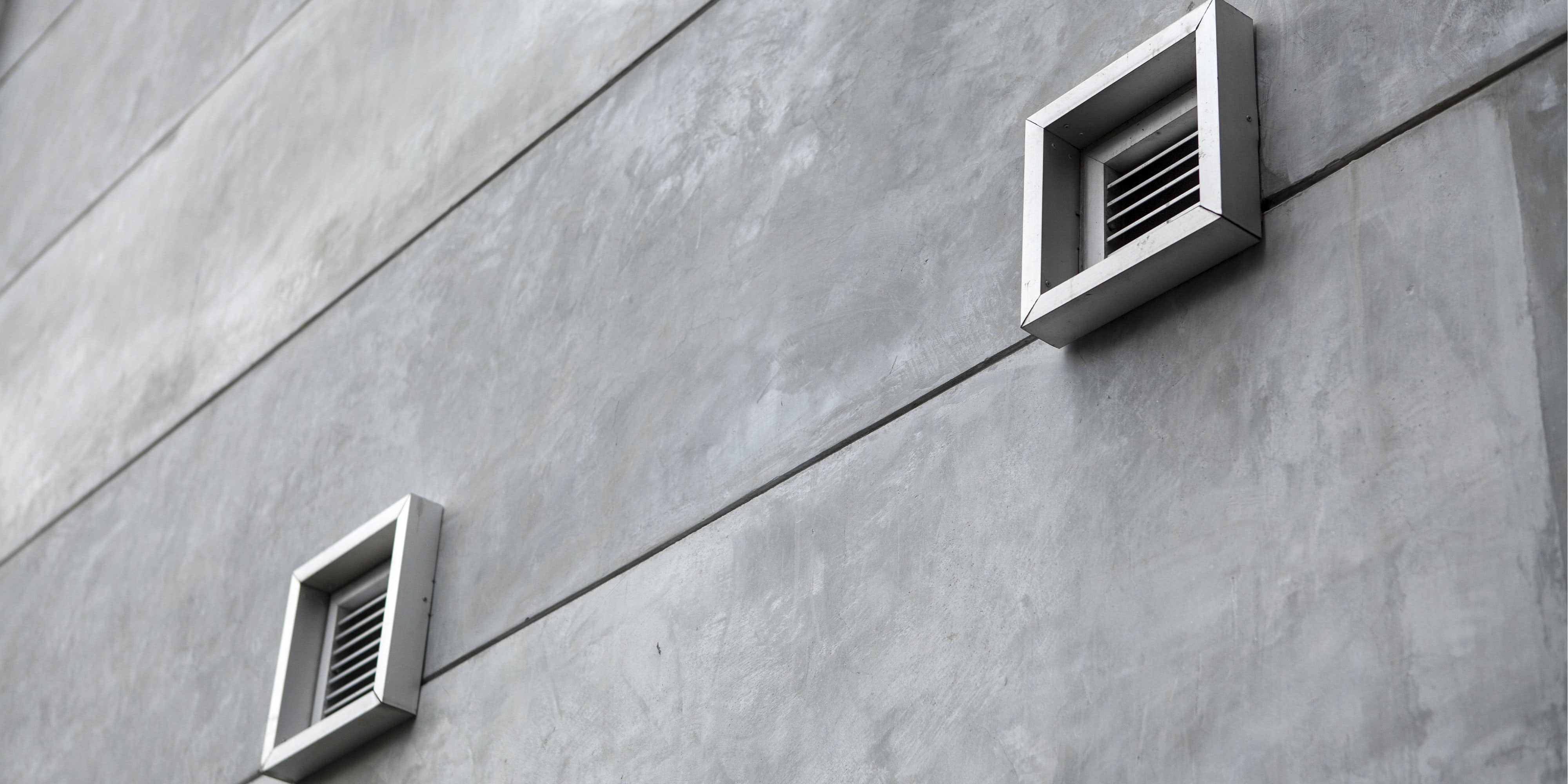 Geluidsdemper ventilatiesysteem