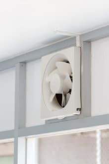kelder ventileren buisventilatie
